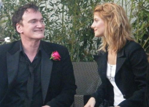 Quentin Tarantino et Mélanie Laurent.jpg
