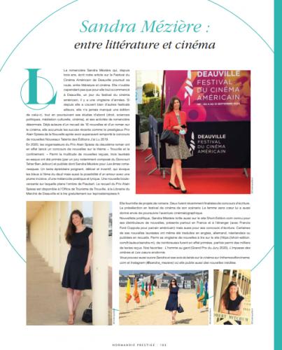 Normandie Prestige 2021 article.png