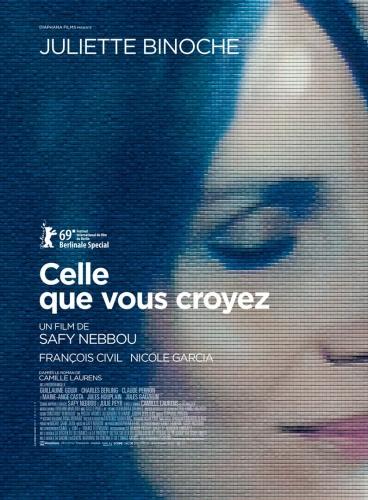 Critique de Celle que vous croyez de Safy Nebbou et affiche.jpg