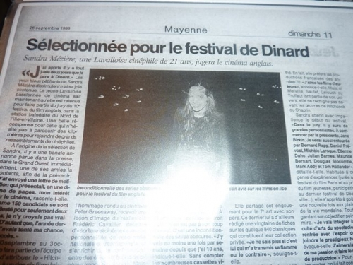 Sandra Mézière dans Ouest France 1999.jpg