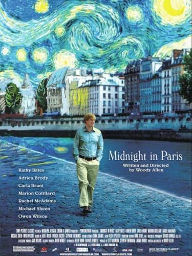 Woody Allen, Minuit à Paris, critique, film, cinéma, Owen Wilson, Léa Seydoux, Marion Cotillard