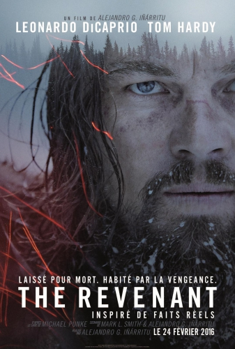alejandro gonzález iñárritu, Leonardo dicaprio, DiCaprio, Oscars, Oscars 2016, critique, film, The Revenant, In the mood for cinema, Tom Hardy,