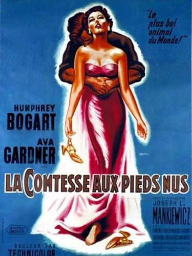 La comtesse aux pieds nus, Ava Gardner, cinma, film, Humphrey Bogart