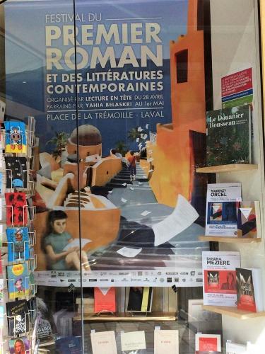 cinéma, littérature, livre, livres, dédicace, librairie, librairie M'Lire, Laval, Mayenne, roman, Cannes, Festival de Cannes, Festival de Cannes 2016, L'amor dans l'âme, Editions du 38