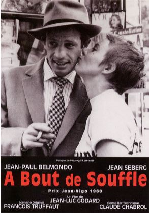 La Box fait son cinéma, Nouvelle Vague, partenariat, Godard, A bout de souffle, cinéma, In the mood for cinema, partenariat, mode, Jean Seberg, Jean-Paul Belmondo