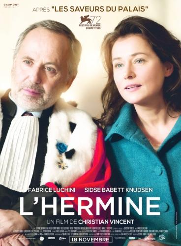 cinéma, critique, l'hermine, Christian Vincent, Fabrice Luchini, critique, film, Venise Mostra de Venise,