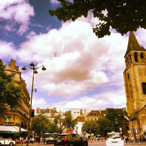 Paris, Saint-Germain-des-Prés, cinéma italien, Italie, L'Arlequin