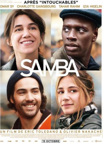 Samba, Charlotte Gainsbiurg, Omar Sy, Tahar Rahim, Eric Toledano, Olivier Nakache, cinéma, télévision, film, critique