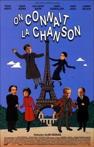 alain resnais,on connaît la chanson,cinéma,film,agnès jaoui,lambert wilson,jean-pierre bacri,in the mood for cinema