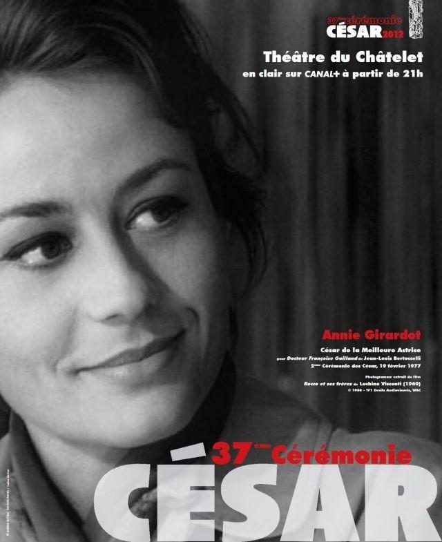 Annie Girardot Affiche César 2012 Où Ai-je LA Tête ?